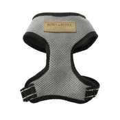 Bowl&Bone Republic - Candy Dog Harness - Grey