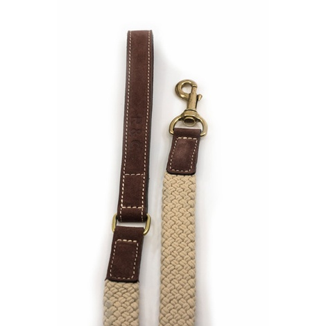 Rope lead (flat) - Brown 3