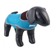 Doodlebone - Drysie Dog Jacket – Petrol Blue