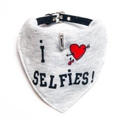 SR! Dog Accessories - Selfie Dog Bandana Collar