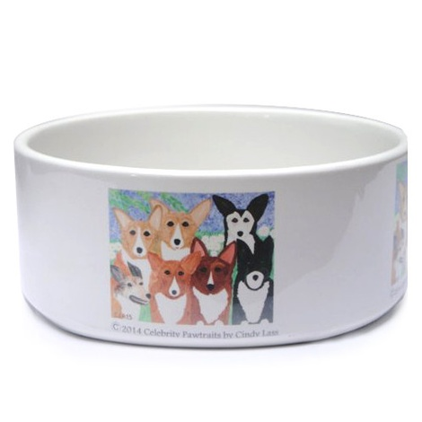 Corgi Dog Bowl