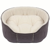 Kudos - Kudos Fairmont Oval Pet Bed in Grey