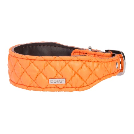 DO&G Silk Expressions Dog Collar - Orange