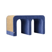 Catworks - Scratching Post - Letter M - Blue