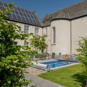 <strong> Alexander House East Wing, Perth and Kinross </strong> A simply stunning six double bedroom, five-bathroom property, with open fire, pool and hot tub.