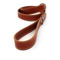 Tan Brown Leather Dog Lead