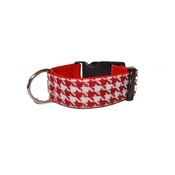Pet Pooch Boutique - Houndstooth Dog Collar