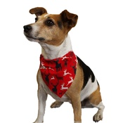 Dapper Pets - Reindeer Slip on Dog Bandana