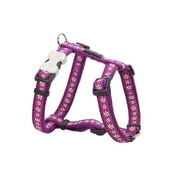 Red Dingo - Daisy Chain Dog Harness - Purple