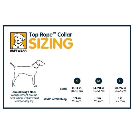 Top Rope Dog Collar - Twilight Gray 2