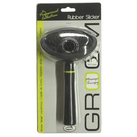 Groom Rubber Slicker Brush for Dogs 2