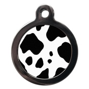PS Pet Tags - Cow Print Pet ID Tag