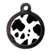 PS Pet Tags - Cow Print Pet ID Tag
