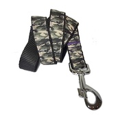 "Pet Pooch Boutique - Army Dog Lead 1"" Width"