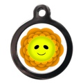 Smiley Flower Dog ID Tag