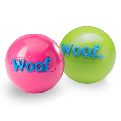 Woof Orbee Tuff Dog Ball - Pink 2