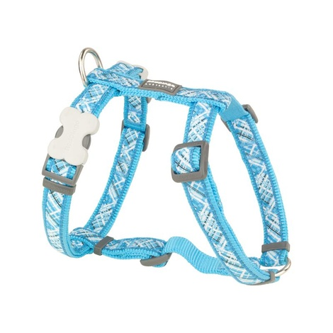 Flanno Dog Harness – Turquoise