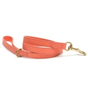 Mutts & Hounds - Coral Leather Dog Lead