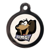 PS Pet Tags - OMG Dog ID Tag