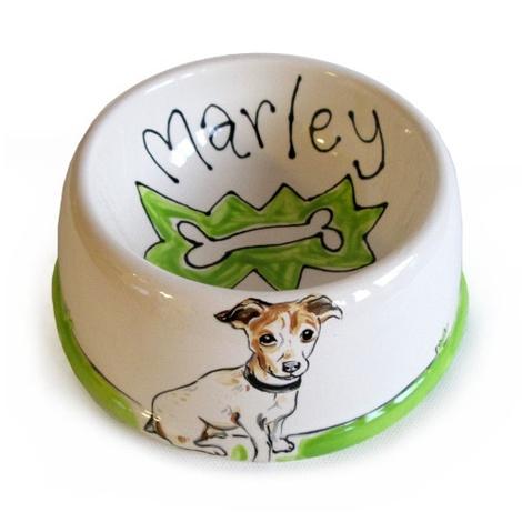 Small Personalised Dog Bowl