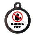 Hands Off Dog ID Tag