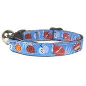 Cool Cat Collars - Fox Print Cat Collar