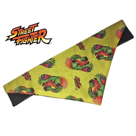 Classic Blanka Arcade Dog And Cat Bandana
