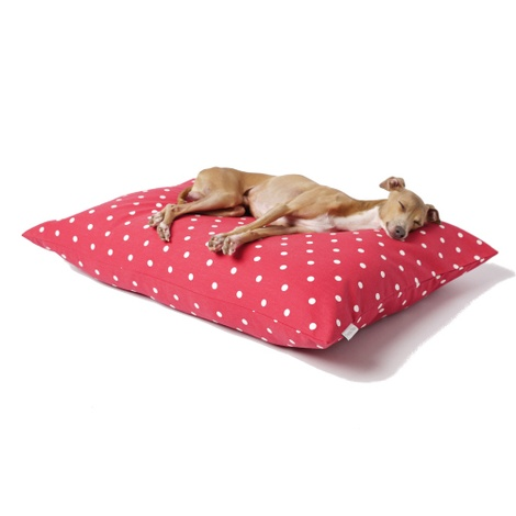 Cotton Top Day Bed - Dotty Raspberry