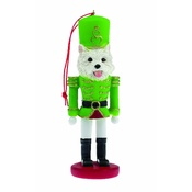 NFP - West Highland White Terrier Nutcracker Soldier Ornamen