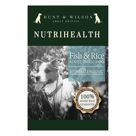 NutriHealth Adult Small Dog Fish & Rice 12kg 2
