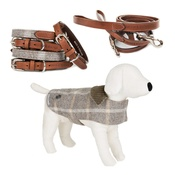 Mutts & Hounds - Slate Tweed Set