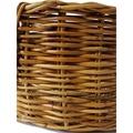 Natural Oval Rattan Dog Basket 4