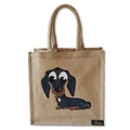 Midi Dachshund Bag - Natural