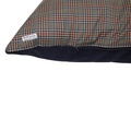 Personalised Brown Check Dog Doza Bed 5