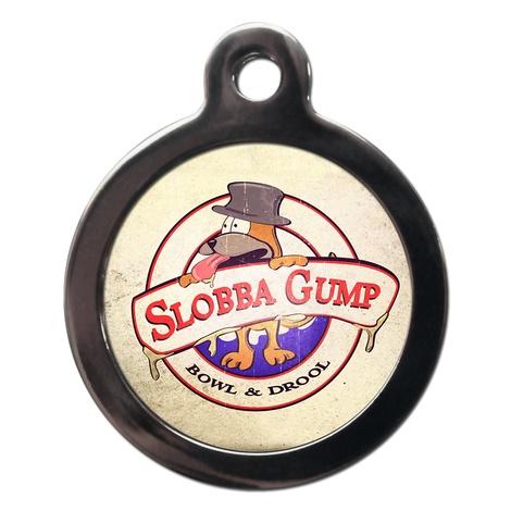 Slobba Gump Dog ID Tag