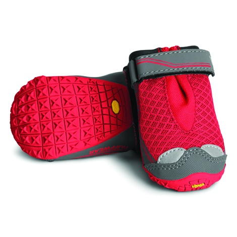 Grip Trex Dog Boots – Red Currant