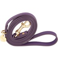 Amethyst and Gold Luxury Leather Lead