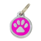 Tagiffany - My Sweetie Pink Paw Pet ID Tag