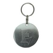 The Pet Jeweller - Alphabet Dog ID Tag - Plain silver on plain silver