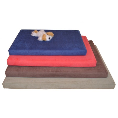 Foam Dog Bed - Moss  3