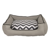 Pet Brands - Snoooz Comfort Sofa Bed - Chevron