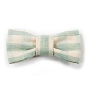 Mutts & Hounds - Mint Check Dog Bow Tie