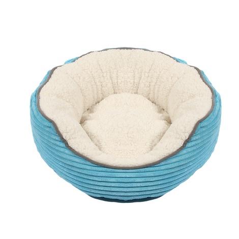 Sweet Dreams Donut Pet Bed – Blue