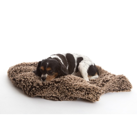 Shaggy Pet Blanket - Brown