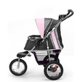 Buggy Comfort with Airfilled Tyres - Pink/Grey 2