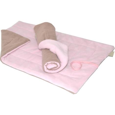Cosy Mats - Pastel Pink & Camel