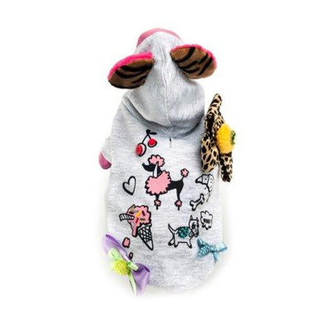 Dog Birthday Party Hooded Pullover