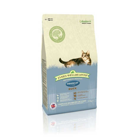 Duck & Rice House Cat Dry Food Cat Food