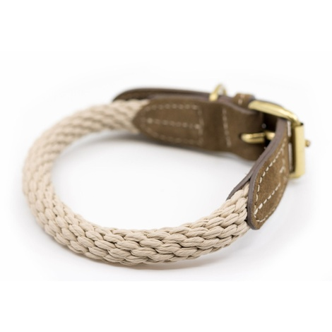 Rope collar (Braided) - Ivory 4