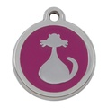 My Sweetie Pink Cat Pet ID Tag